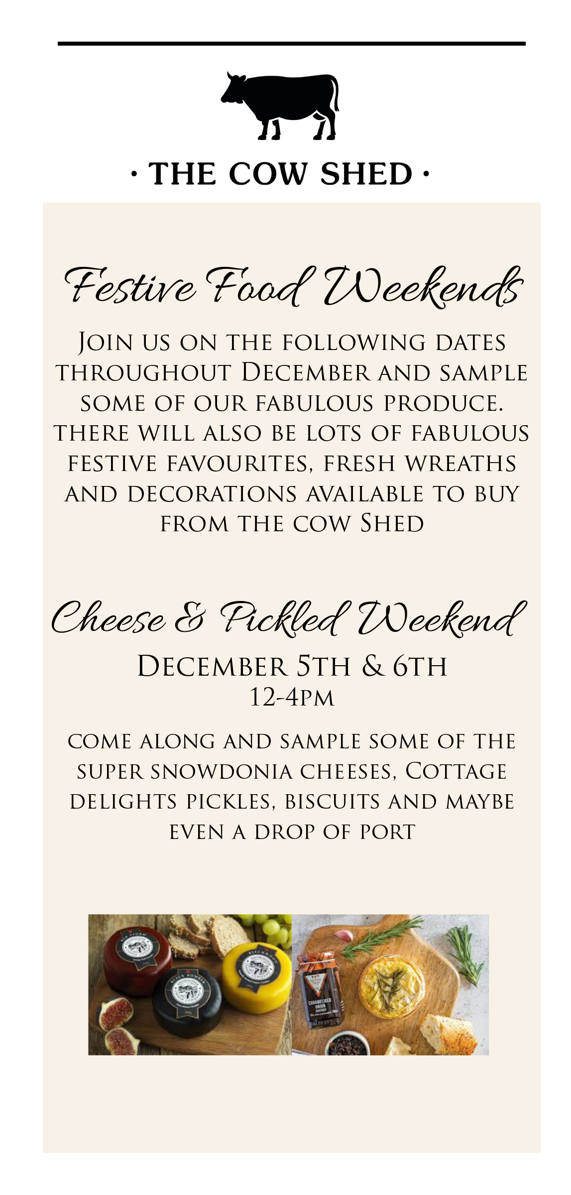 Cheese and Pickled Weekend